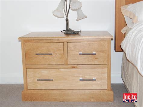 Bespoke Handmade Furniture - custom handmade american oak 2 2 bedside cabinet