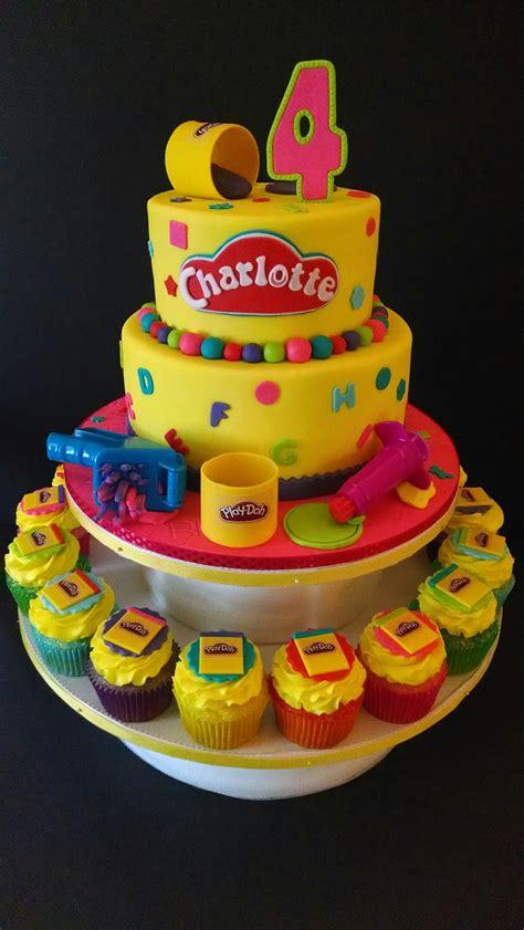 Dun Doh Birthday Cake play doh themed birthday the house of cakes play doh plays and birthdays