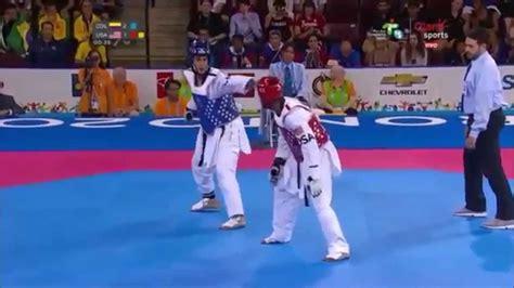 contest 2015 usa taekwondo bronze medal contest toronto 2015 col vs usa