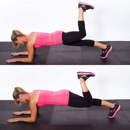 circuit workout routine   flat stomach tight butt