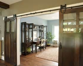 Sliding Barn Doors by 20 Home Offices With Sliding Barn Doors