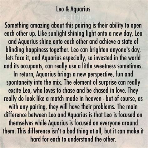 the 25 best leo and aquarius compatibility ideas on