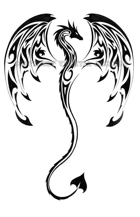 tribal dragon tattoos arm tribal tattoos on designs