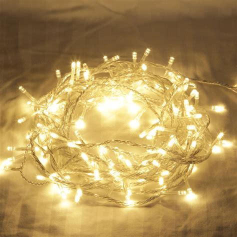 Charming Christmas Lightss #6: LED_Warm_White_Fairy_Lights_Clear.jpg