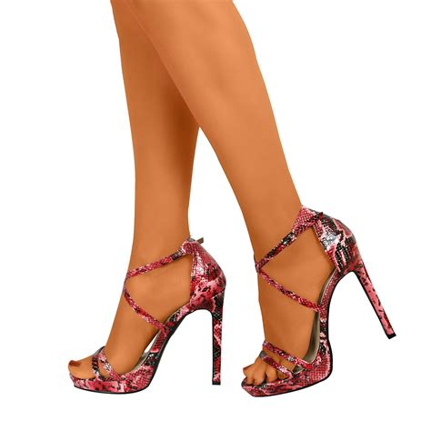 high heels with open toe womens stiletto ankle high heels new open toe