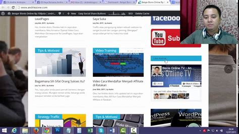 cara membuat blog di youtube cara membuat banner iklan di blog andriezone com youtube