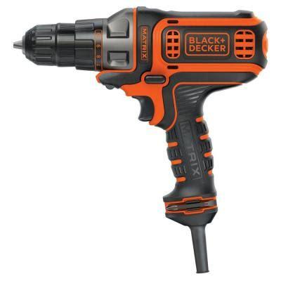 black decker matrix 4 3 8 in corded drill and driver