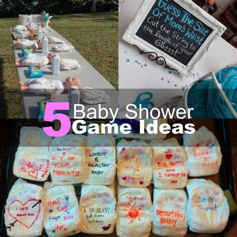 Baby Shower Activity Ideas Not by 5 Baby Shower Ideas 2016
