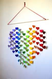 Paper Craft Wall Decorations - bring your walls at home to with these 21 diy 3d
