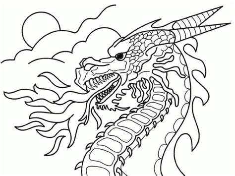 free fire breathing dragons coloring pages