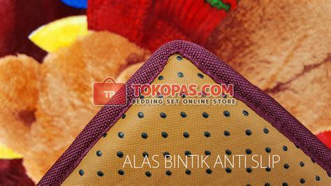 Selimut Bulu Karakter Happy Castle Chelsea karpet selimut bulu halus lembut motif kartun bunga