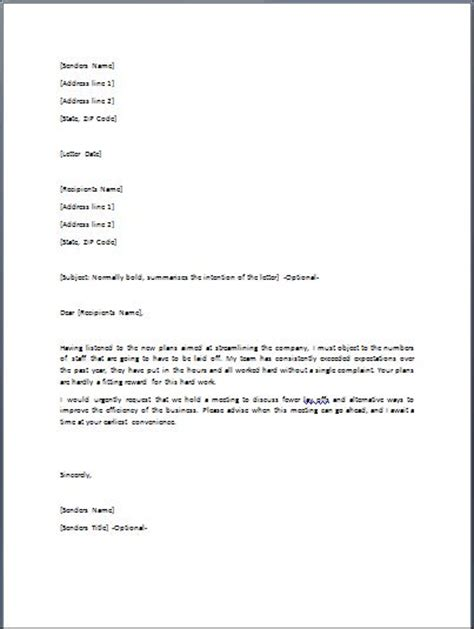 Contract Disagreement Letter Sle Image Gallery Disagreement Letter