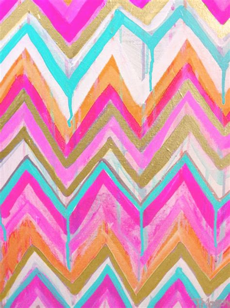 colorful chevron wallpaper rainbow boho colorful pastel neon modern tribal zig zag