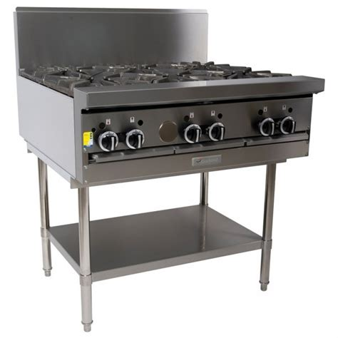 6 Burner Cooktop Kitchen Equipment Melbourne Kea Restaurant Supply
