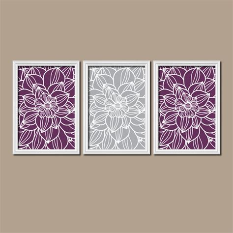 purple bathroom wall art purple gray wall art canvas or prints purple bathroom by