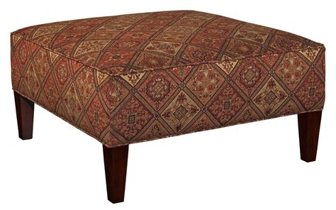 Broyhill Furniture Ottomans Robson Contemporary Square Cocktail Ottoman   Wayside Furniture