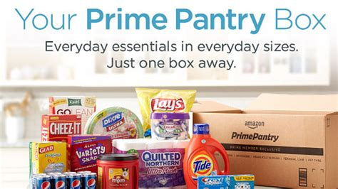 Pantry Launch by With Launch Of Pantry Thinks Prime Members Will