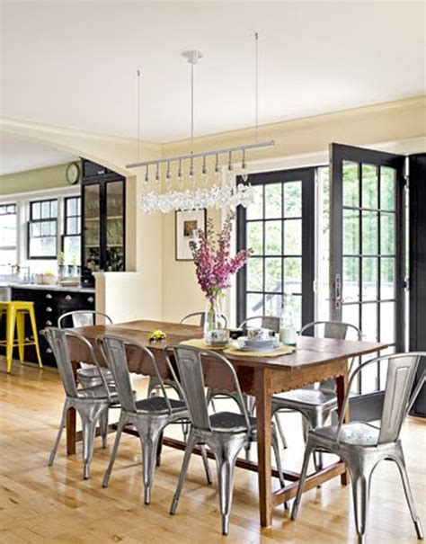 Dining Room Picture Ideas Yes Tolix Chairs