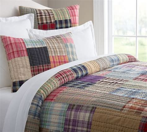 Patchwork Bedding - milvia patchwork quilt sham pottery barn