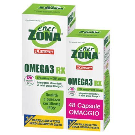 Wellness Omega Rx 3 60s enerzona omega3 rx da 1g 168 capsule ipump it