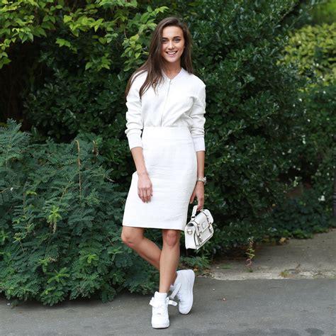 Mini Dress Sweater Chic Like Midi Korean Style all white summer chic looks 2018 fashiongum