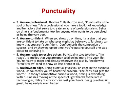 Essay On Punctuality by Essay On Punctuality Is The Soul Of