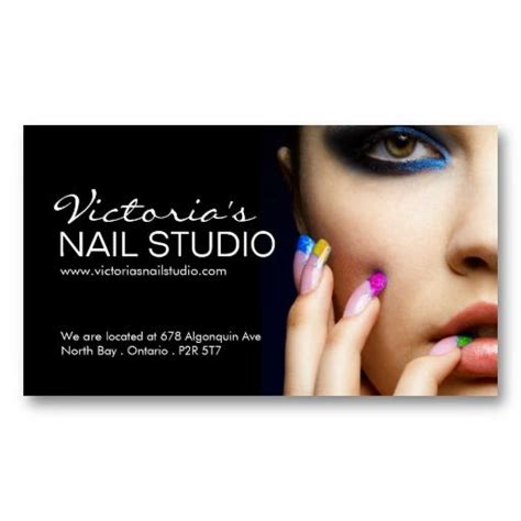 Nail Salon Business Card Template by Nail Technician Business Card Template Nail Technician