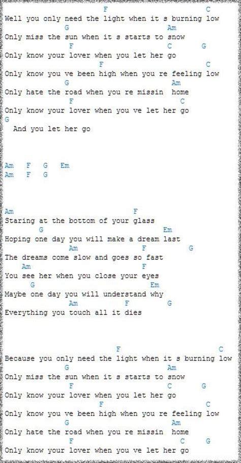 Ukulele Tutorial Let Her Go | ukulele chords let her go google search sheet music
