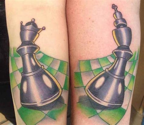 king and queen chess pieces tattoo designs 40 king tattoos that will instantly make your
