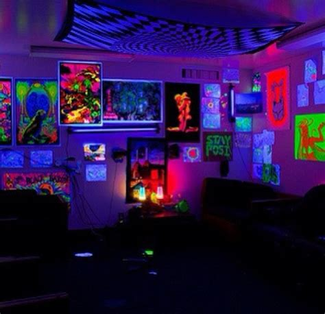 1000 images about glow in the dark rooms on pinterest