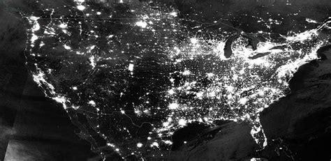 nighttime lights over the us earthdata