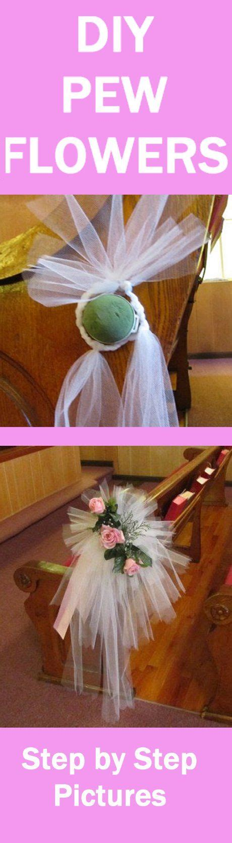 Wedding Bouquet Bows by Tulle Bow Tutorial Easy Photo Directions For Pew Bows