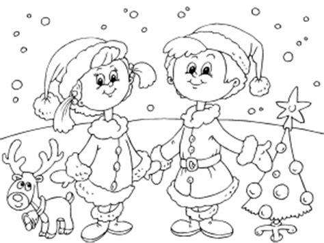 dibujos ni241os en navidad colorear reno de navidad dibujos de postales de navidad para colorear paracolorear net