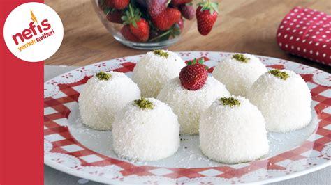 ve lezzetli bir tatli tarifi ariyorsaniz hindistan cevizli sam tatlisi fincan tatlısı s 252 tl 252 pratik tatlı tarifi youtube