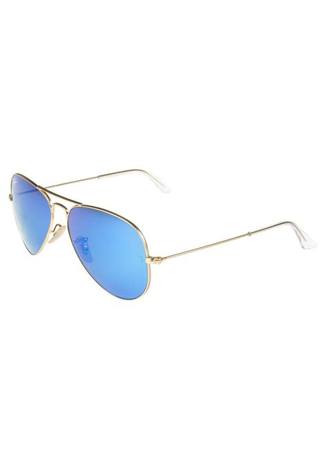 Sunglases Rbn 254 Murmer ban aviator sunglasses blau goldfarben zalando co uk
