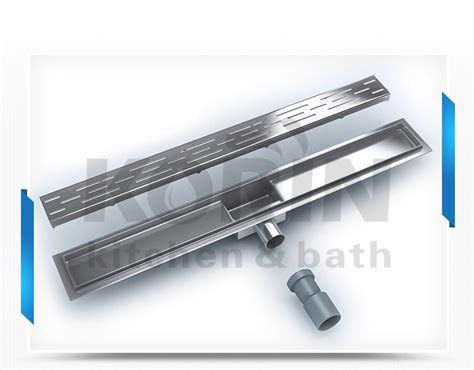 Shower Channel Drain by Linear Shower Channel Drain Stainless Steel Shower