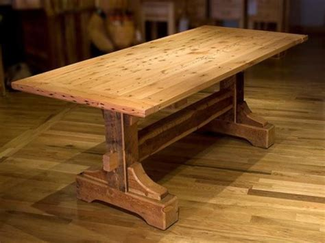 trestle table building plans things to consider in