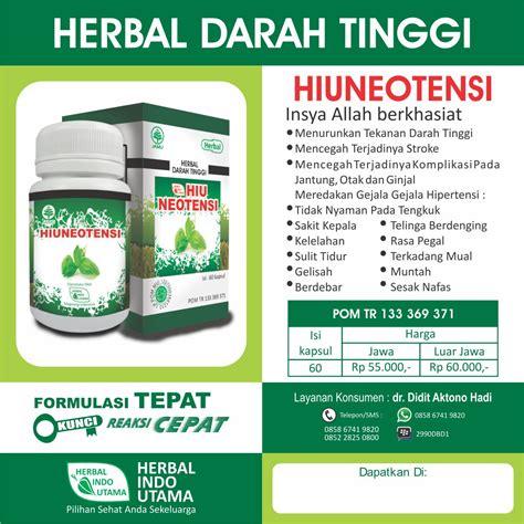 obat herbal hipetensi tekanan darah tinggi  cepat