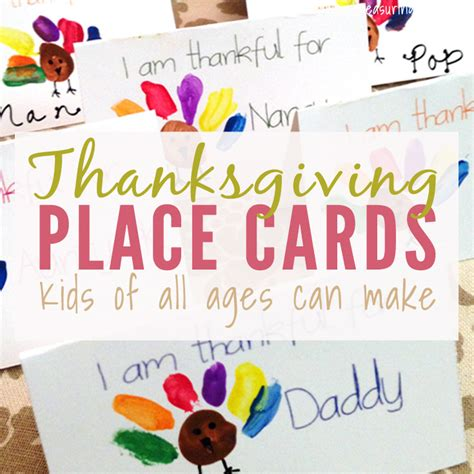 thanksgiving place cards to make thanksgiving place cards that can make free printable
