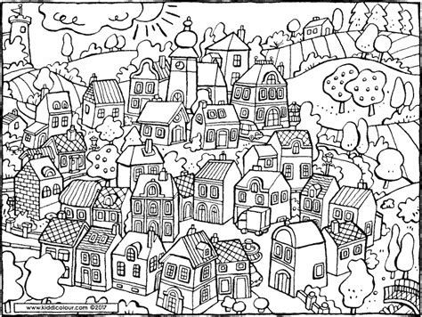 coloring pages christmas village 85 coloring pages village this uk source has
