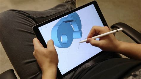 3d designer taking 3d design to the next level with shapr3d and an apple pencil