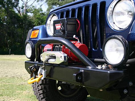 Jeep Wench Jeep Winch Bumpers Jk Tj Yj Front Bumpers