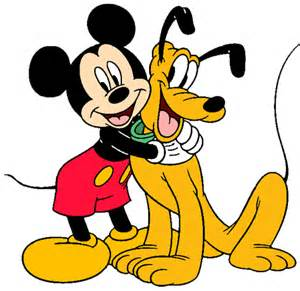 mickey minnie pluto clip art 2 disney clip art galore