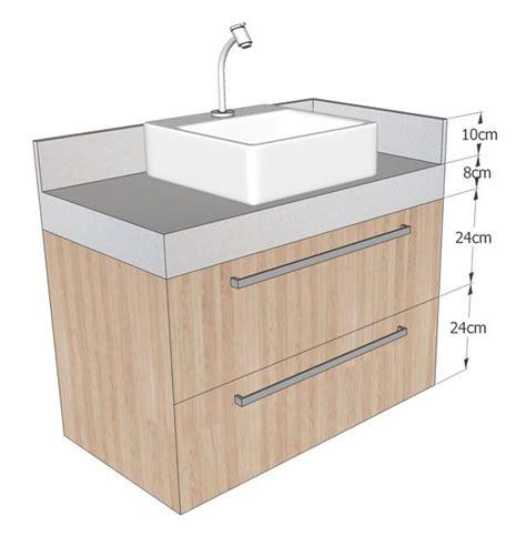 gabinete bancada bancada e gabinete banheiro medidas cuba de sobrepor