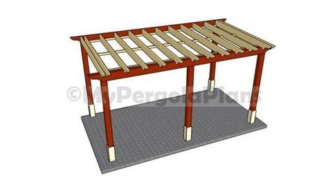 free pergola plans attached to house pergola attached to house free pergola plans pinterest
