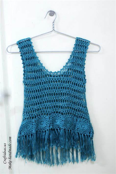 top ideas crochet fashion cute summer top for women craft ideas