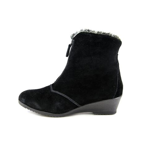 sporto womens size 11 black wide leather fashion