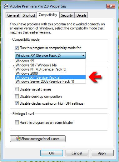 adobe premiere pro windows xp adobe premiere pro 2 0 on windows vista mor10