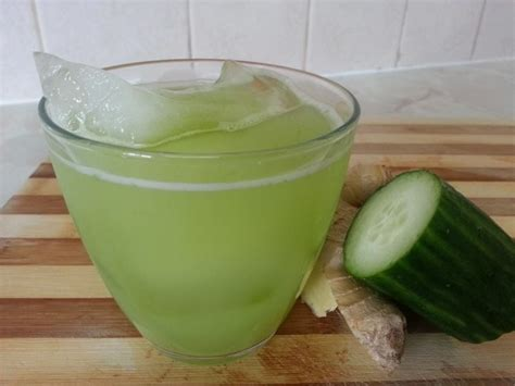Jamaican Detox Drink by Caribbean And Cucumber Drink Jamaican