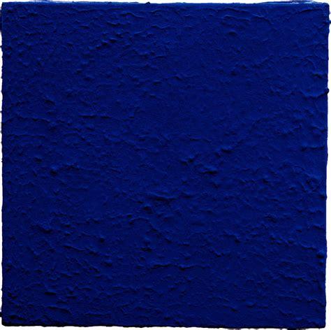Yves Klein Blue by The Blue Monochrome Yves Klein